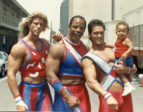 sunny american gladiators