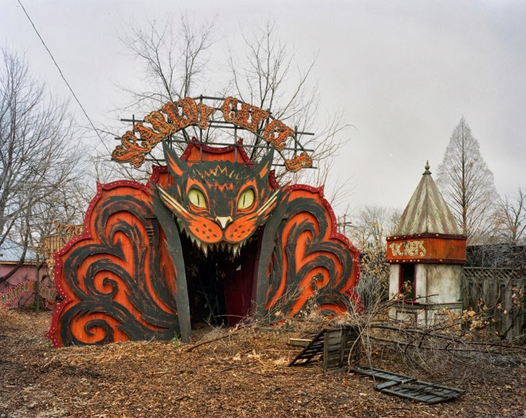 Below, An Abandoned Funhouse.