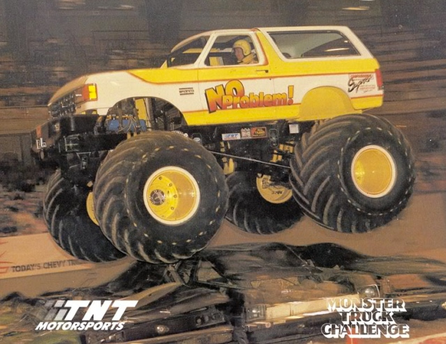of monster trucks