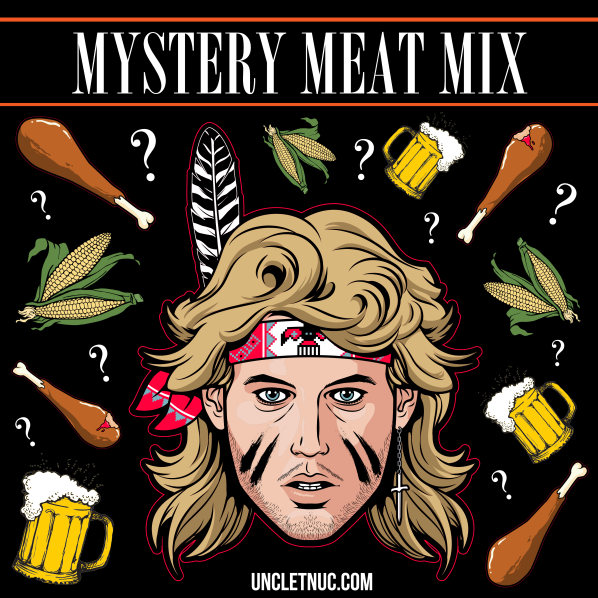 Mystery Meat MIx black
