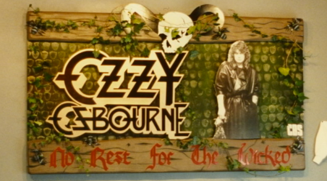 ozzy foamboard tower records